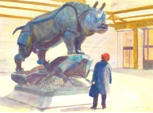 Musee D'Orsay Rhino